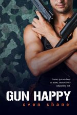 Gun Happy – Action / Military Book Cover For Sale