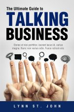 The Ultimate Guide to Talking Business – Business Book Cover For Sale