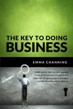 The Key To Doing Business – Business Book Cover For Sale