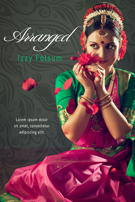 Arranged – East Indian Women's Fiction Book Cover For Sale