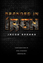 Branded In Iron – Action Typography Book Cover For Sale