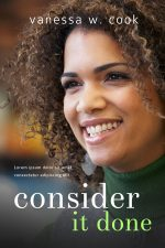 Consider It Done – African American Women's Fiction Book Cover For Sale