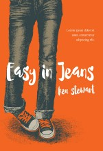 Easy In jeans – Young Adult Illustrated Book Cover For Sale