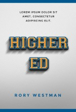 Higher Ed – Typography Book Cover For Sale