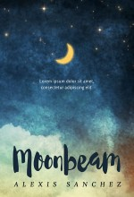 Moonbeam – Illustrated Nighttime Book Cover For Sale