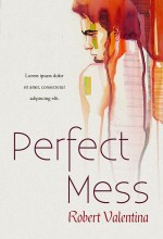 Perfect Mess – Young Adult Painted Book Cover For Sale