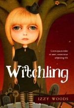 Witchling – Illustrated Fantasy Book Cover For Sale