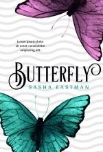 Butterfly Premade Book Cover