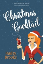 Christmas Cocktail Premade Book Cover