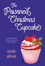 The Poisoned Christmas Cupcake Premade Book Cover