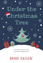 Under The Christmas Tree Premade Book Cover
