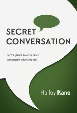 Secret Conversation – Non-fiction Pre-made Book Cover For Sale @ Beetiful Book Covers
