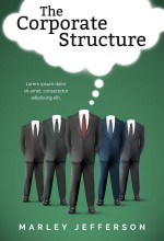 The Corporate Structure – Business Pre-made Book Cover For Sale @ Beetiful Book Covers