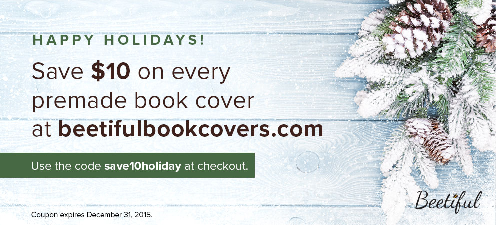 Save $10 on every premade book cover