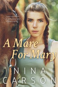 A Mare For Mary - Young Adult Pre-made Book Cover For Sale @ Beetiful Book Covers