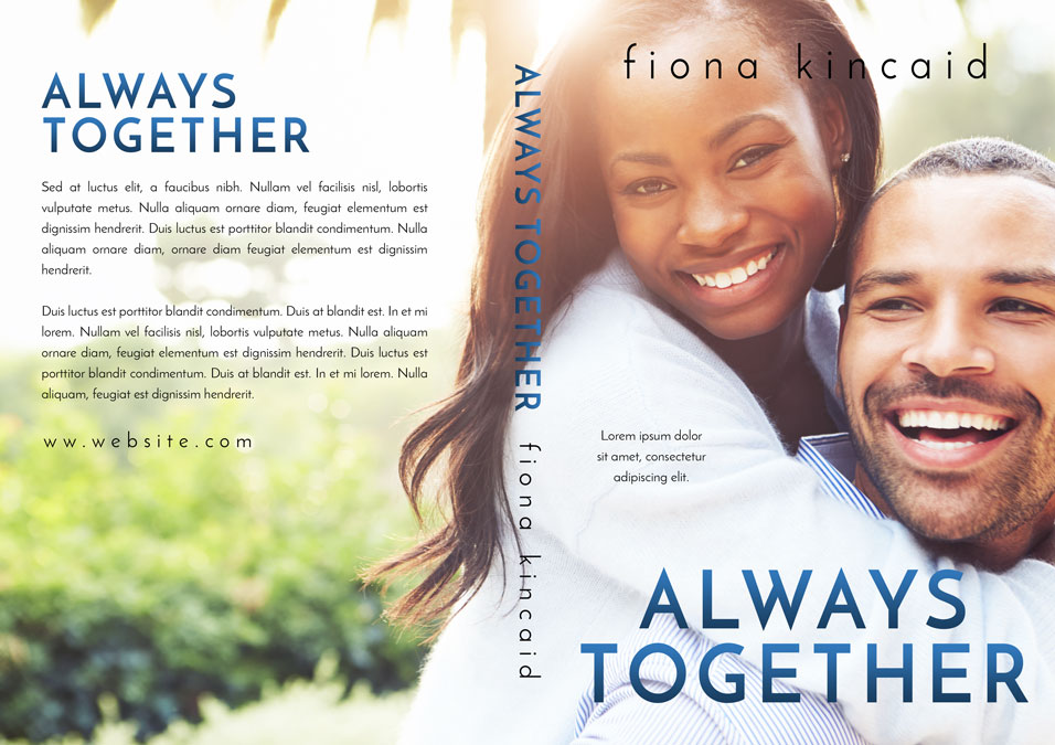 Always Together - African-American Romance Premade Book Cover For Sale @ Beetiful Book Covers