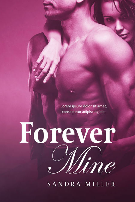 Forever Mine - Romance Premade Book Cover For Sale @ Beetiful Book Covers