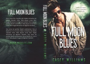 Full Moon Blues - Paranormal / Shifter Premade Book Cover For Sale @ Beetiful Book Covers