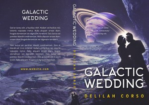 Galactic Wedding - Space Romance Premade Book Cover For Sale @ Beetiful Book Covers