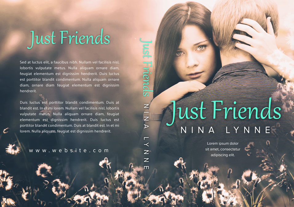 Just Friends - Young Adult Romance Premade Book Cover For Sale @ Beetiful Book Covers