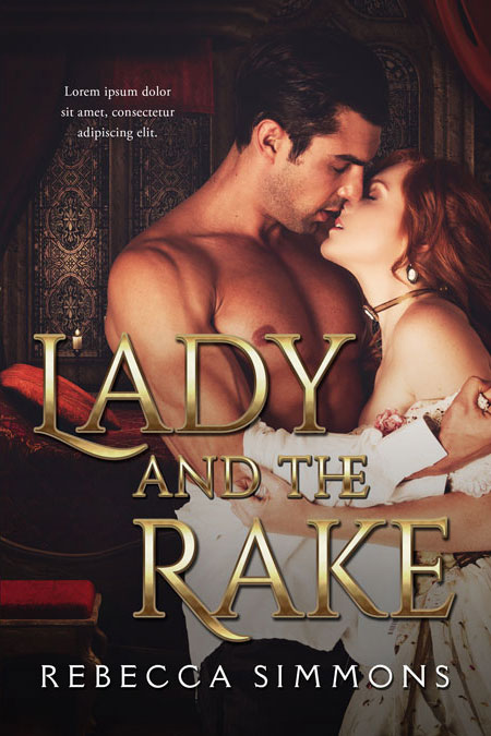 Lady and the Rake - Historical Romance Premade Book Cover For Sale @ Beetiful Book Covers