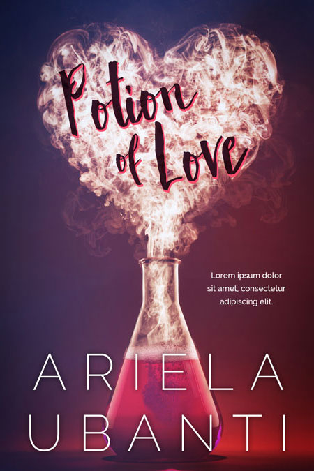 Potion of Love - Romance Premade Book Cover For Sale @ Beetiful Book Covers