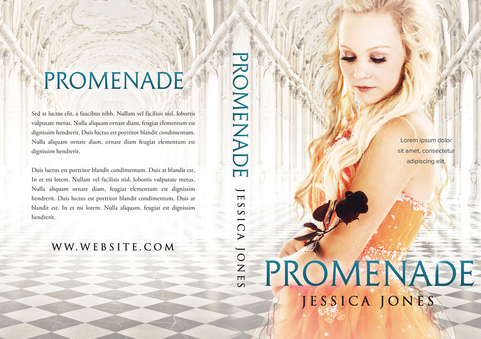 Promenade - Young Adult Fantasy Premade Book Cover For Sale @ Beetiful Book Covers