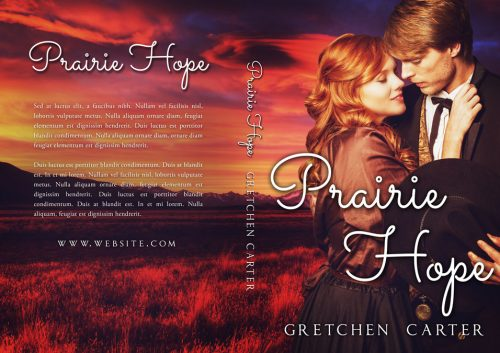 Prairie Romance - Western Historical Romance Series Premade Book Covers For Sale - Beetiful