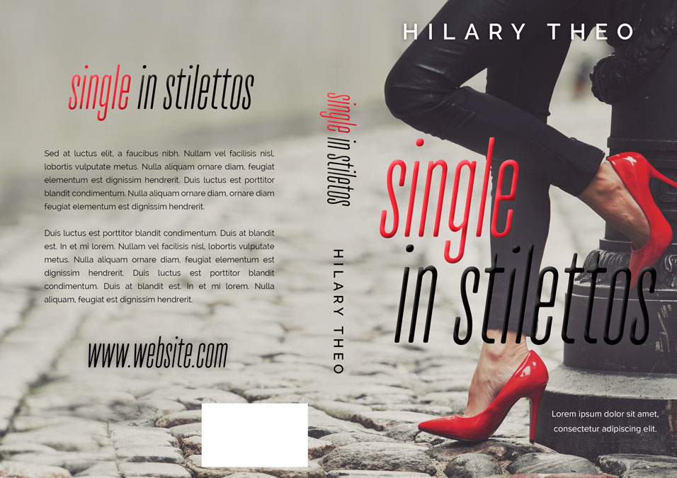 Single In Stilettos - Chick-lit Premade Book Cover For Sale @ Beetiful Book Covers