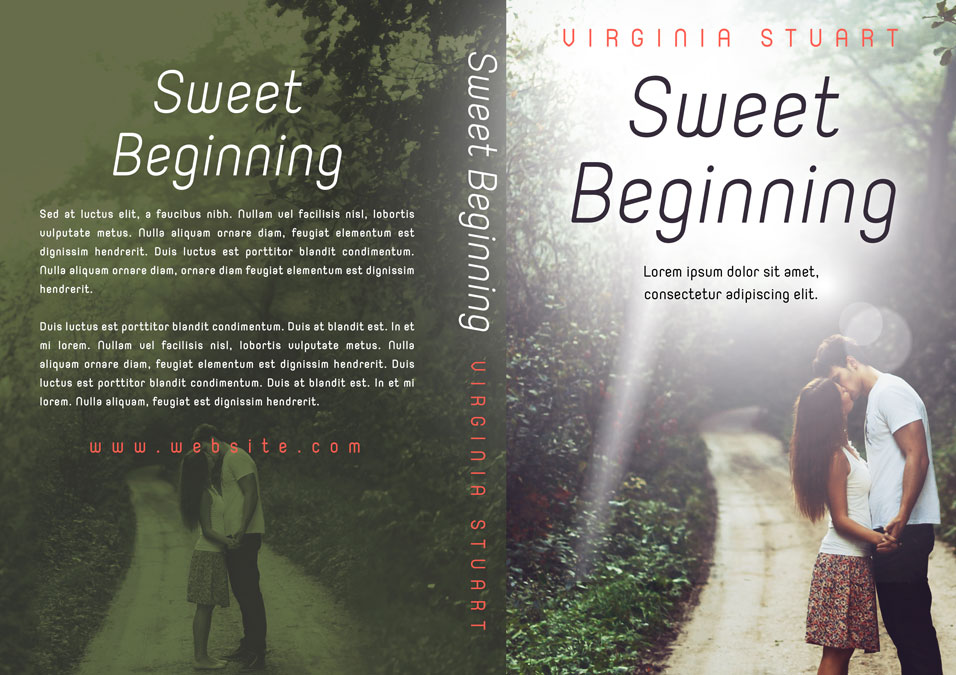 Sweet Beginning - Young Adult Romance Premade Book Cover For Sale @ Beetiful Book Covers