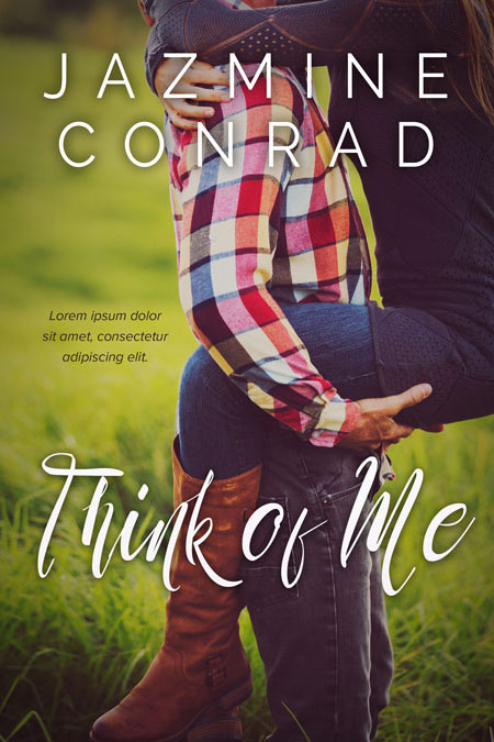 Think of Me - Romance Premade Book Cover For Sale @ Beetiful Book Covers