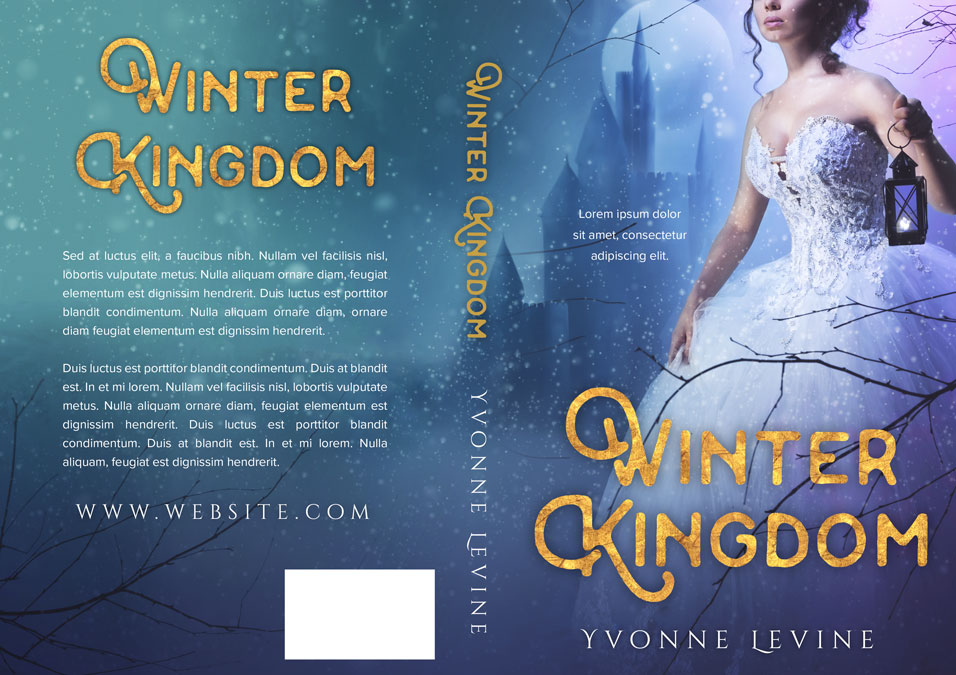Winter Kingdom - Fantasy Pre-made Book Cover For Sale @ Beetiful Book Covers