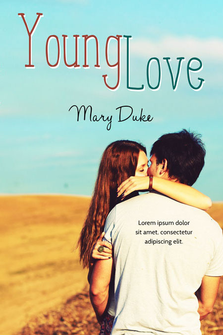 Young Love - Young Adult Romance Pre-made Book Cover For Sale @ Beetiful Book Covers