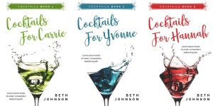 Cocktails - Women's Fiction Series Premade Book Covers For Sale - Beetiful