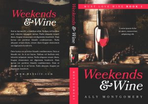 Much Love Wine - Women's Fiction Series Premade Book Covers For Sale - Beetiful