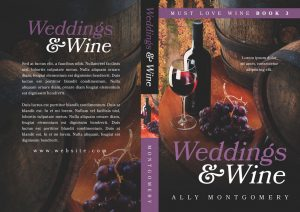 Must Love Wine - Women's Fiction Series Premade Book Covers For Sale - Beetiful