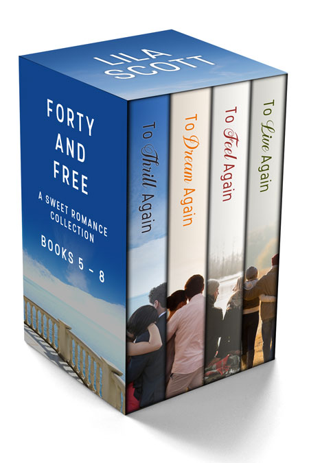 Forty and Free: A Sweet Romance Series Bundle Books 5 - 8 by Lila Scott