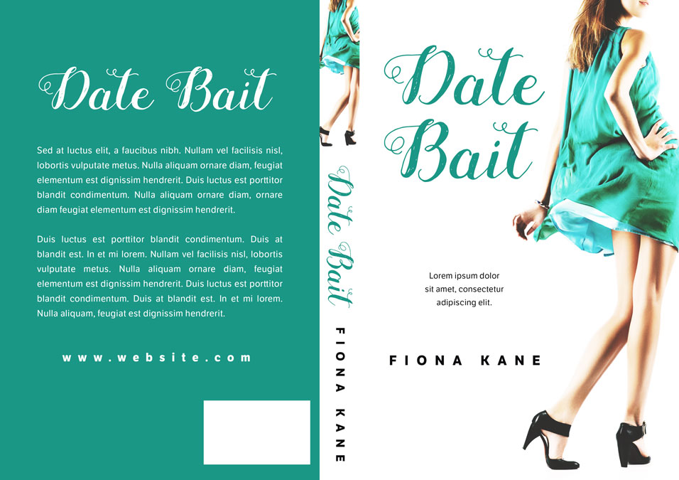 Date Bait - Chick lit Premade Book Cover For Sale @ Beetiful Book Covers
