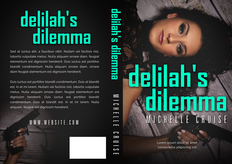 Delilah's Dilemma - Romantic Suspense / Action Premade Book Cover For Sale @ Beetiful Book Covers