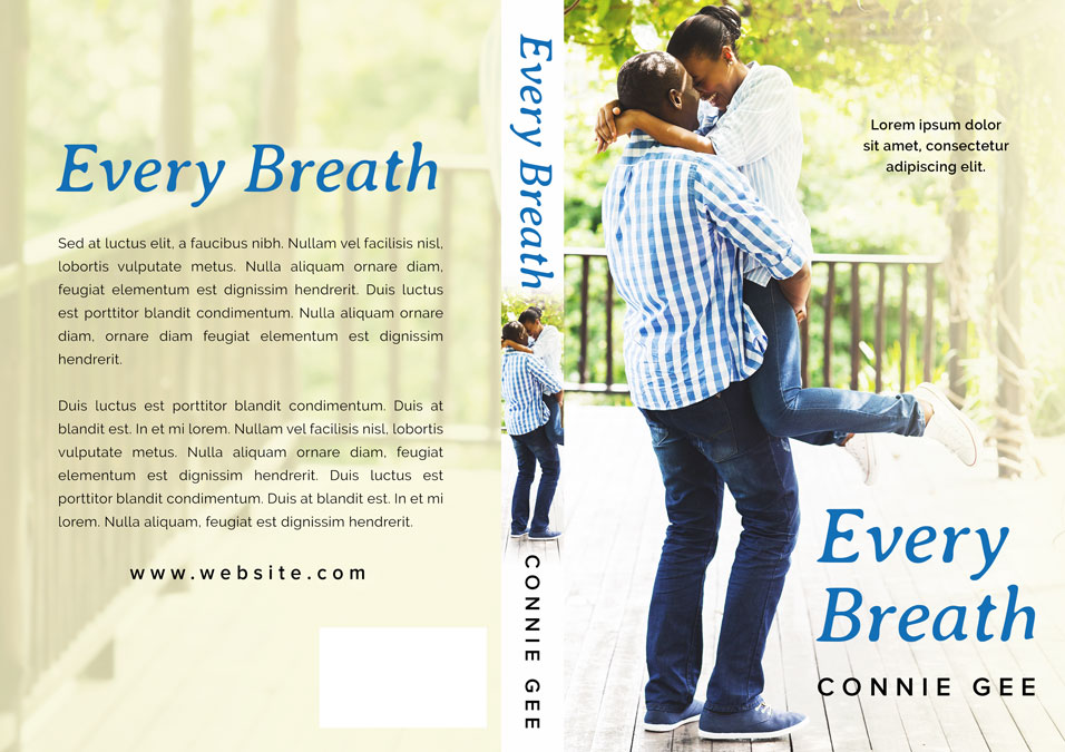 Every Breath - African-American Romance Premade Book Cover For Sale @ Beetiful Book Covers
