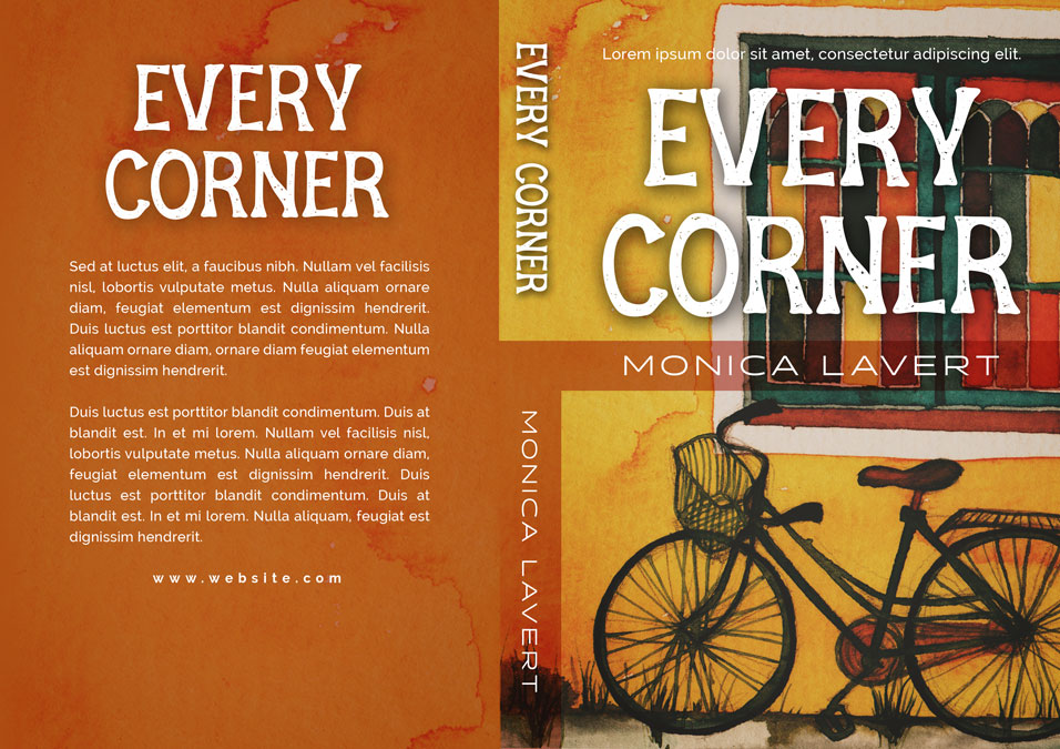Every Corner - Fiction Premade Book Cover For Sale @ Beetiful Book Covers