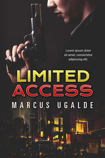 Limited Access - Action / Suspense Premade Book Cover For Sale @ Beetiful Book Covers