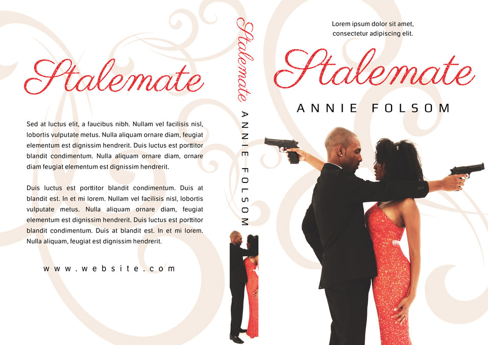 Stalemate - African-American Romantic Suspense Premade Book Cover For Sale @ Beetiful Book Covers