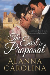 The Earl's Proposal - Historical Romance Premade Book Cover For Sale @ Beetiful Book Covers