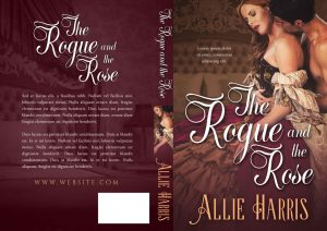 The Rogue and the Rose - Historical Romance Premade Book Cover For Sale @ Beetiful Book Covers