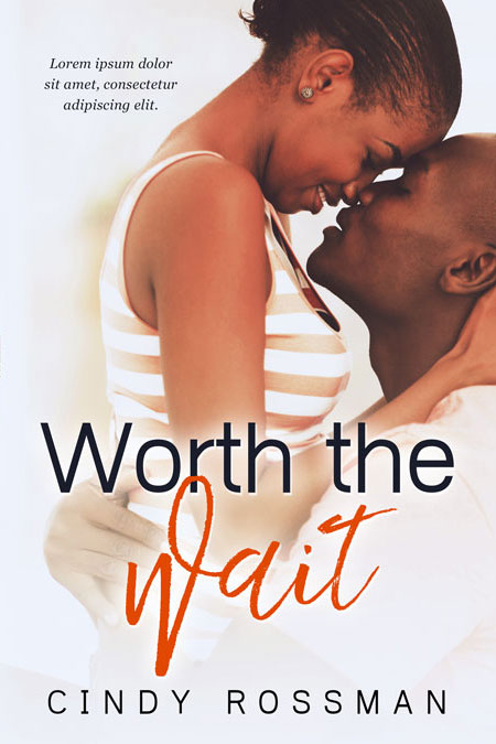 Worth The Wait - African-American Romance Premade Book Cover For Sale @ Beetiful Book Covers