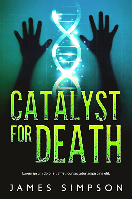 Catalyst For Death – Science-fiction Premade Book Cover For Sale @ Beetiful Book Covers