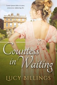 Countess In Waiting - Historical Romance Premade Book Cover For Sale @ Beetiful Book Covers