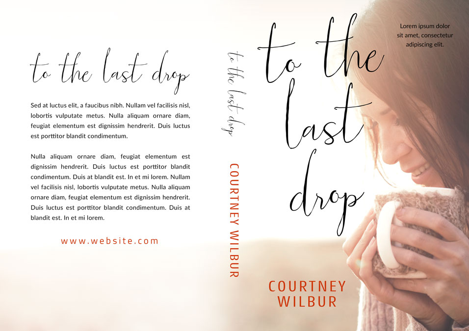 To The Last Drop - Women's Fiction Premade Book Cover For Sale @ Beetiful Book Covers