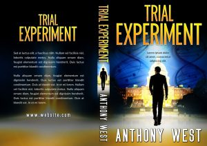 Trial Experiment - Science-fiction Premade Book Cover For Sale @ Beetiful Book Covers